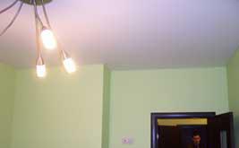 Бесшовный натяжной потолок Черутти