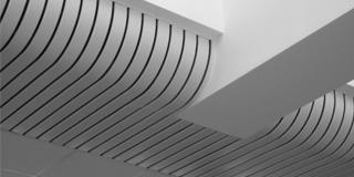 Реечный потолок - криволинейные потолки